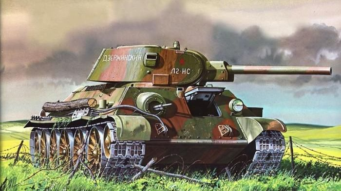 Танки. Военные иллюстрации (155 фото)