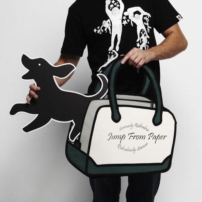 """...просто нарисована.  Но это не так, эту  """"игрушечную сумку """" можно..."""