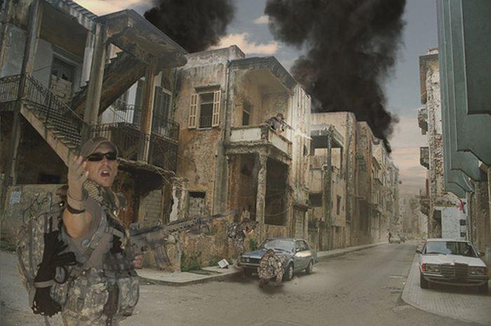 Война в цифровых рисунках (81 фото)