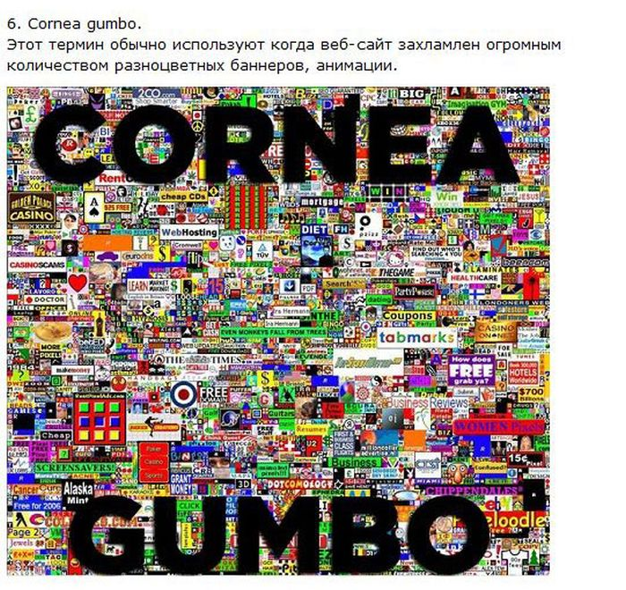 Неизвестные интернет-термины (9 картинок)