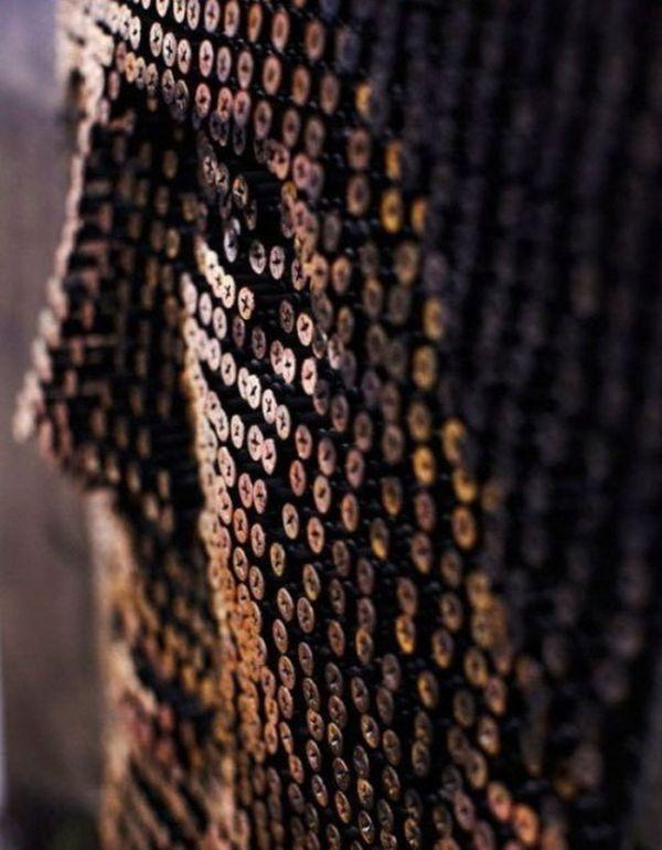 Картины из шурупов (13 фото)