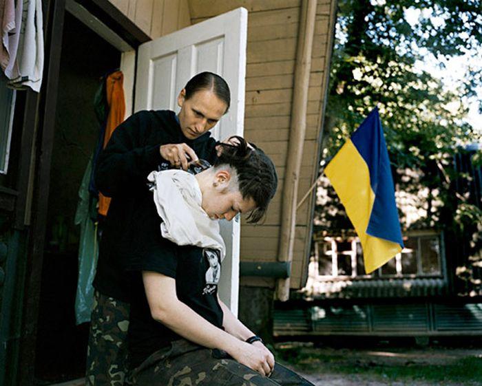 Украинские Амазонки (14 фото)