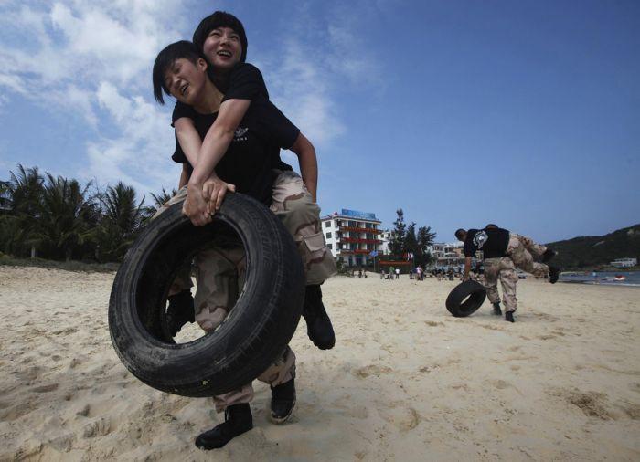 Тренировка телохранителей в Китае (26 фото)
