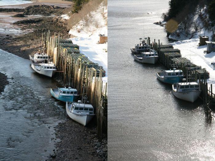 Залив Фанди (10 фото + видео)