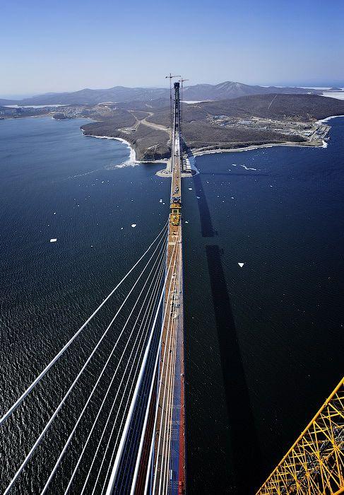 Высотная прогулка по мосту (53 фото)