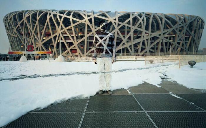 Человек-невидимка из Китая (18 фото)