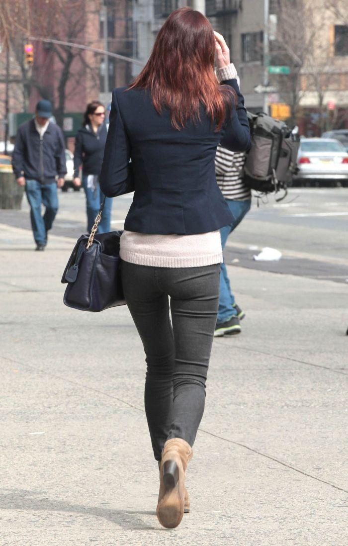 Девушки в обтягивающий джинсах фото 415-756