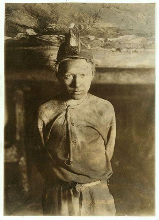 Дети-шахтеры ушедшего столетия (20 фото)