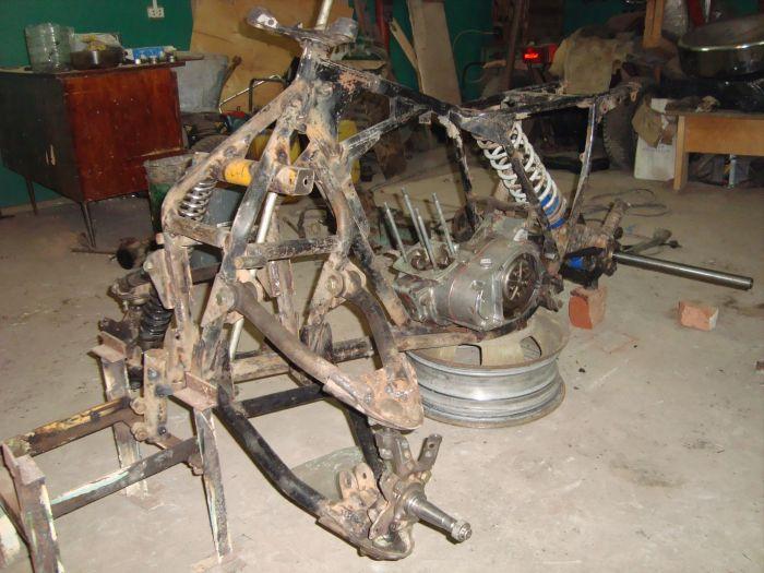 Квадроцикл своими руками (43