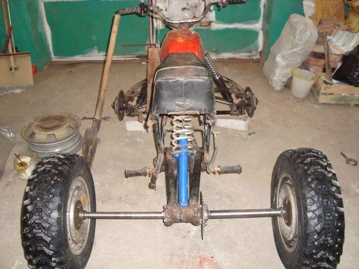 Квадроцикл своими руками фото