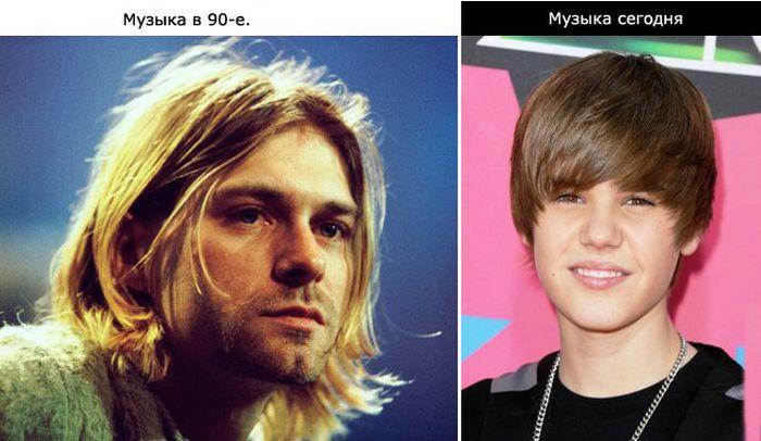 В 90-х и сейчас (9 фото)