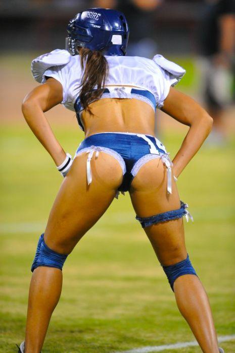 Девушки и американский футбол (26 фото)