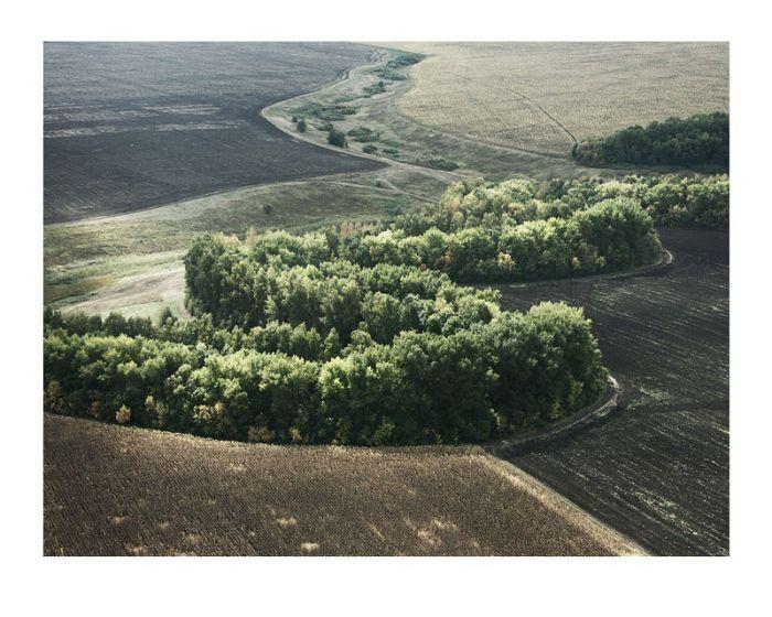Наша земля с высоты птичьего полета (43 фото)