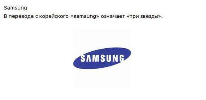 Происхождения названий известных брендов (51 картинка + текст)