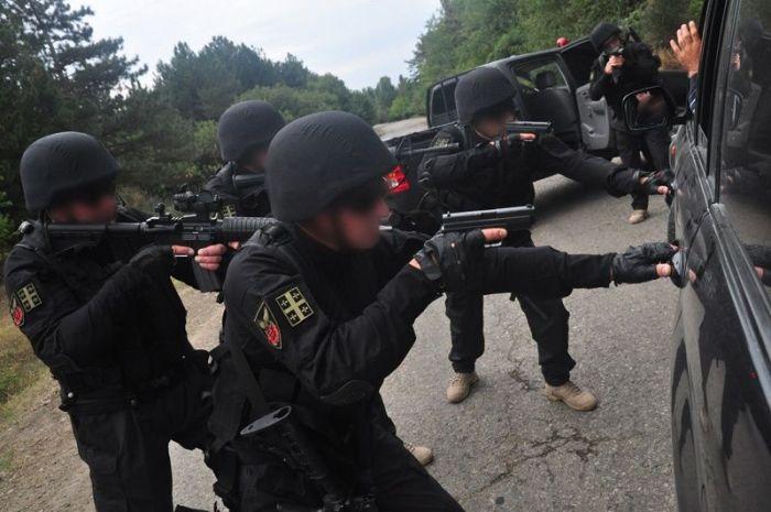 Грузинский спецназ (46 фото)