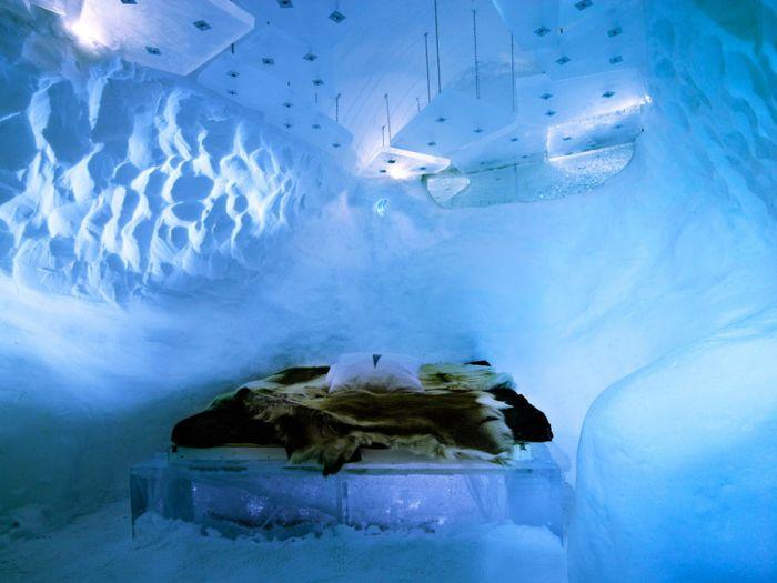 Ледяной отель - IceHotel (26 фото)