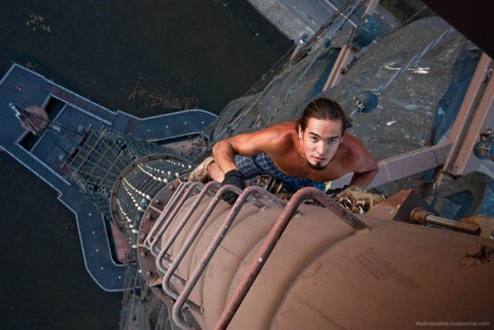 Фотографии экстремального руфинга (25 фото)