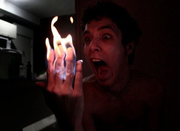 Игры с огнем (4 фото)