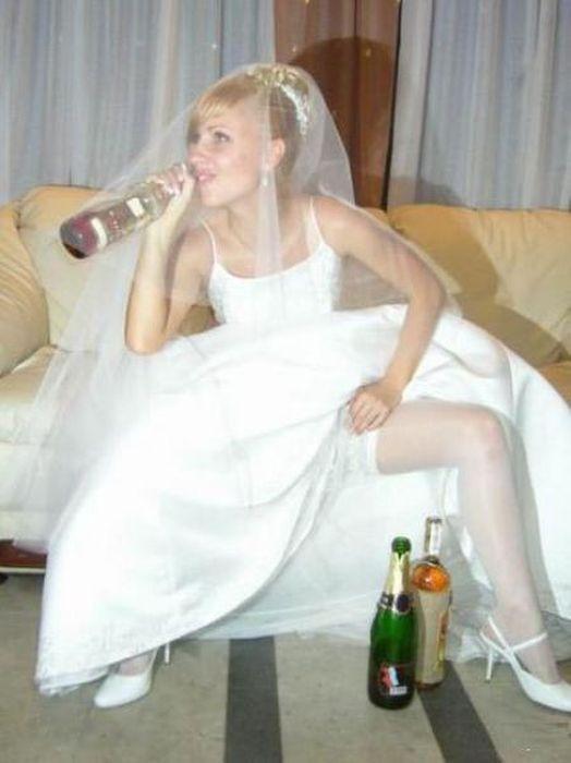 Смешные свадебные фотографии (59 фото)