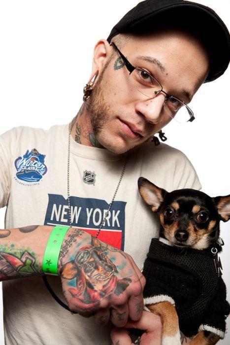 Татуировки с фестиваля в Филадельфии (20 фото)
