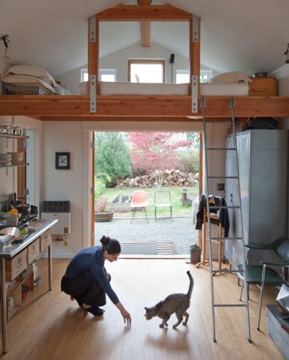 Перевоплощение гаража (14 фото)
