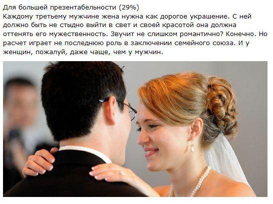 Почему мужчины женятся (16 фото + текст)