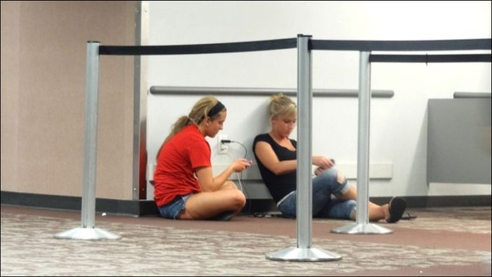 Проблема многих аэропортов (15 фото)
