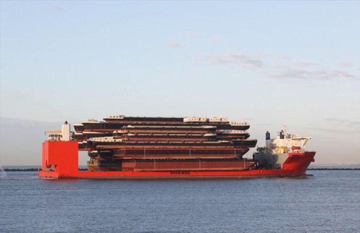 Огромное судно - Blue Marlin (31 фото)