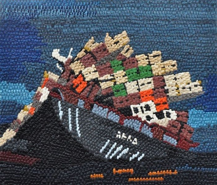 Sanatçı Carolyn Larsen'den İnanılmaz Gösteri)