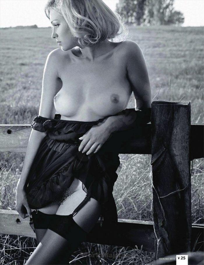 Польская модель для журнала Playboy (8 фото)