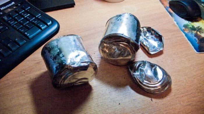 Взрыв сгущенки (5 фото)