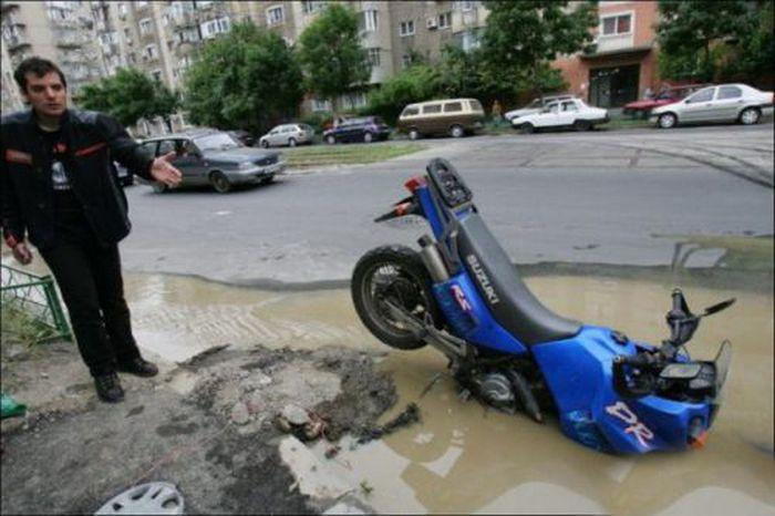 Автомобильные аварии (29 фото)