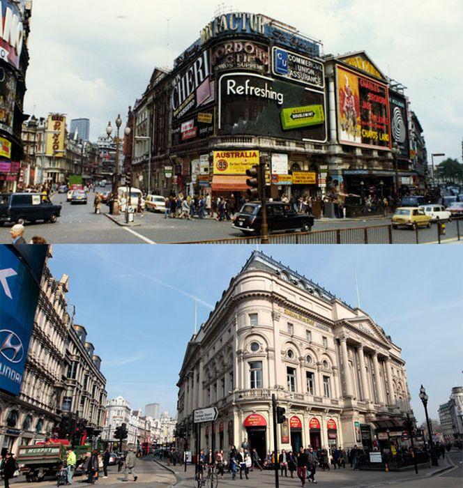 Лондонские улицы спустя время (13 фото)
