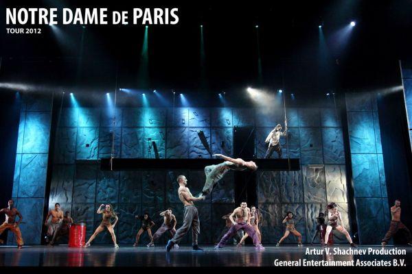 NOTRE-DAME de PARIS. Musical spectacular. Легенда возвращается