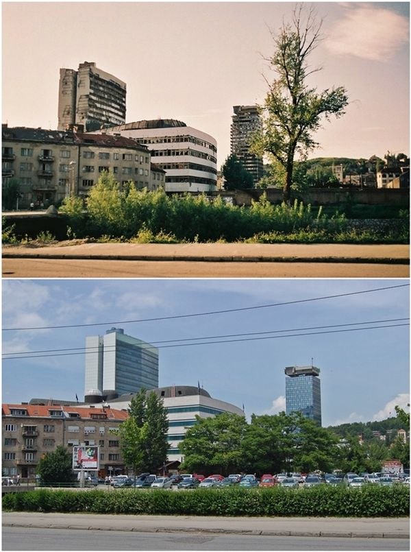Сараево 15 лет спустя (15 фото)