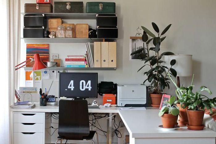 Домашнее рабочее место (57 фото)