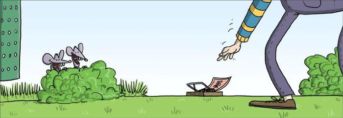 Чёрный юмор и комиксы (60 картинок)