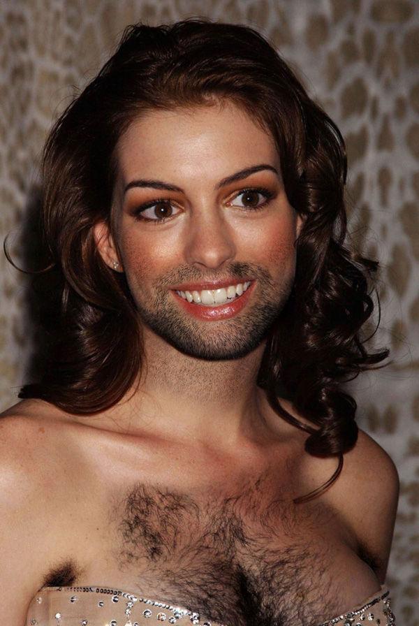 Женщины-звезды с бородой (14 фото)