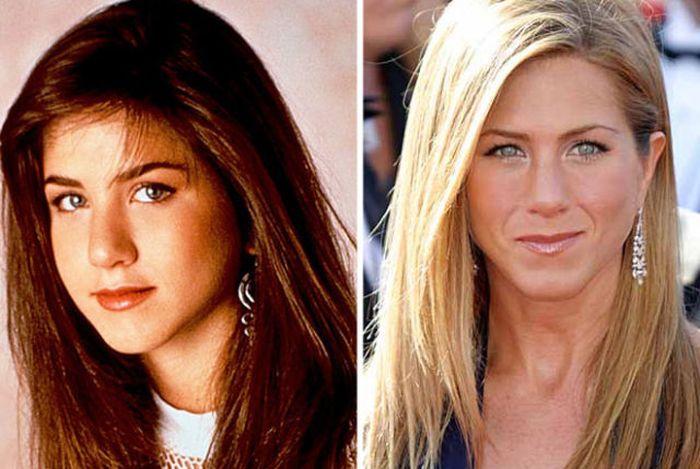 Знаменитости, какими они были в 90-е (22 фото)