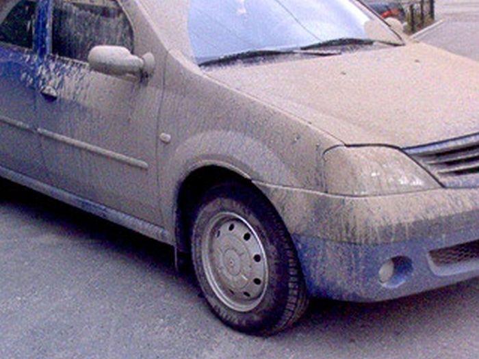 Грязные машины (12 фото)
