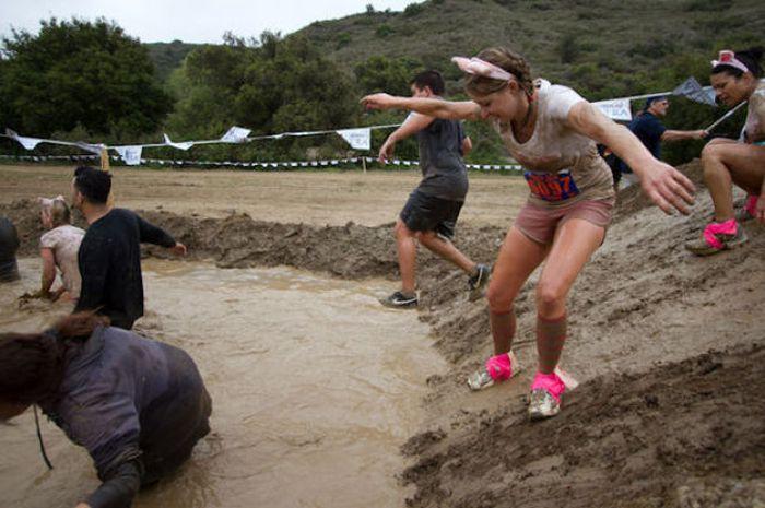 Грязный забег в Калифорнии (46 фото)