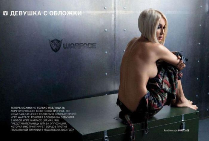 Лера Кудрявцева снялась для журнала Playboy (8 фото)