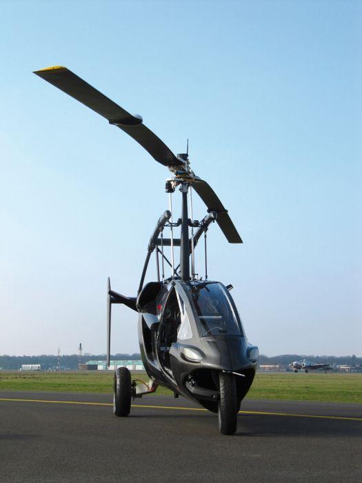 Автомобиль-вертолет из Нидерландов (52 фото)