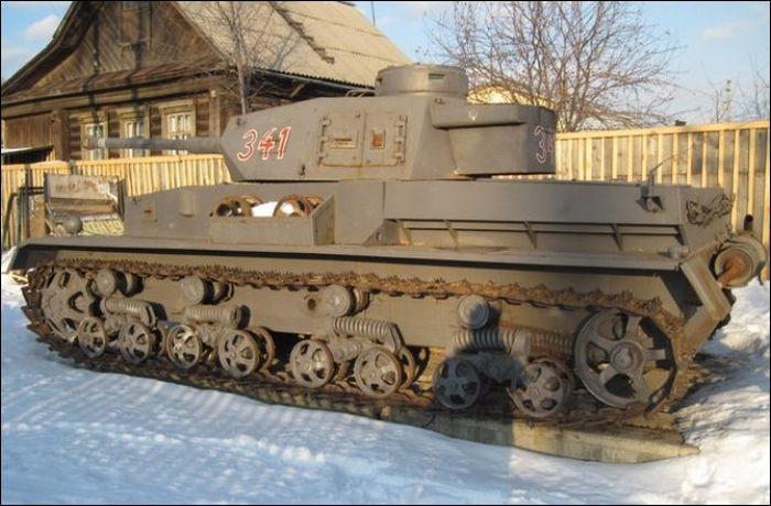 Ездящий танк своими руками