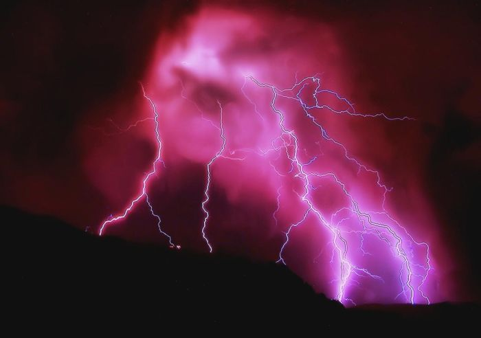 Мощная гроза вАльбукерке (37 фото)