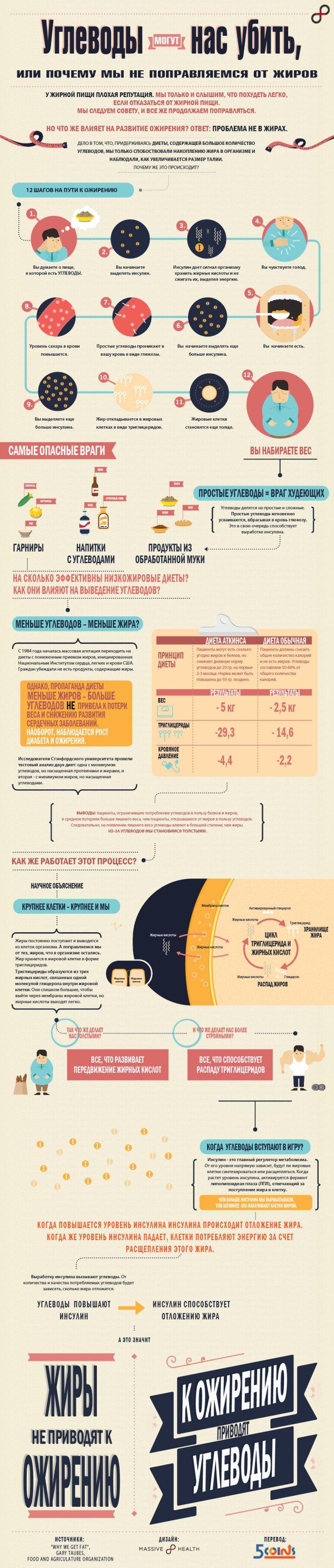 Углеводы могут нас убить, или почему мы не поправляемся от жиров (1 картинка)