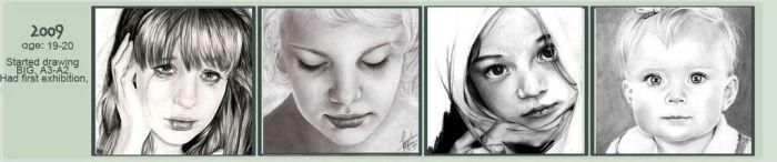 Взросление художника (10 картинок)