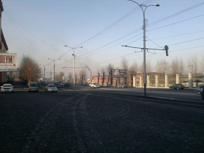 Грязный город - Прокопьевск (41 фото)
