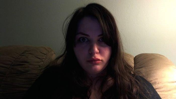 Блоггерша без комплексов (45 фото)