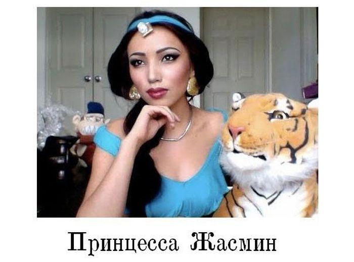 Сила макияжа (14 фото)